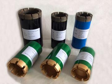 Trépanos de sondeo determinados de la base del diamante de la superficie de la perforación del cable metálico NQ3 y HQ3