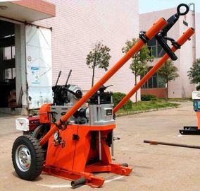 máquina portátil geotécnica de la plataforma de perforación de la profundidad del 150m/plataforma de perforación rotatoria